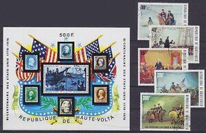 Burkina Faso Block 31 And 569 - 573, Gest History, Used