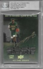 2012 ALL TIME GREATS SHINING MOMENTS AUTO LEBRON JAMES AUTOGRAPH GOLD 9/10