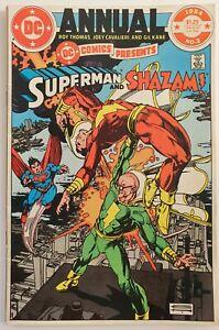 DC Comics Presents: Superman & Shazam – Annual No.3. 1984 - DC Comics