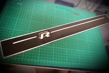 VW Golf Mk7 & MK6 R 3 Door Sill Protector Graphics Thick High Quality Vinyl
