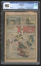 X-Men (Vol. 1) #1, CGC NG, Coverless, 1963, 1st Appearance of the X-Men, Magneto