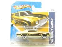 Hotwheels Músculo Mania GM 12 70 Monte Carlo 107/247 Corta Tarjeta 1 64 Escala