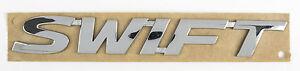 NEW Genuine Suzuki SWIFT Tailgate Boot BADGE Chrome Swift EMBLEM 77831-68L00-0PG