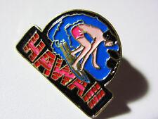 "1990's Big Wave Hawaii SURFER Enamel -Hat, Lapel Pin Tie Tack Hawaiian 1""in"