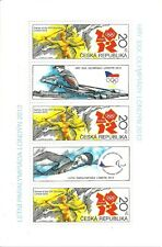 Czech - London 2012 Summer Olympic Games & Summer Paralympic stamp sheet new