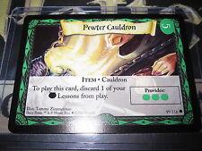 HARRY POTTER TRADING CARD GAME TCG BASIC PEWTER CAULDRON 99/116 COM ENGLISH MINT