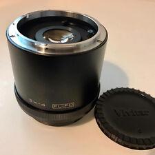 """Vivitar mc 3X-4 Lente Tele Converter-Canon FL-FD adecuado """"Excelente + Estuche'"""
