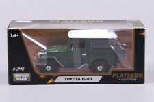 Toyota FJ40 1:24 Model Cars Toys Alloy Diecast Collection&Gifts In Box Green New