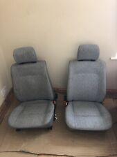 2x VW Transporter T4 1991 front single seats