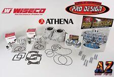 Banshee Athena 400cc 68 Big Bore Cylinders WISECO Pistons Pro Design Head Domes