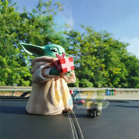 """Star Wars The Force Awakens Baby Yoda Holding Cup 13cm/5"""" Action Figure Model"""