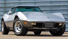1970s Corvette Chevy Chevrolet Race Sport Car 1 24 Vintage 12 Carousel Silver 18