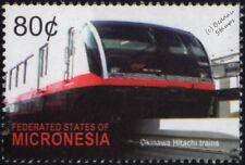 Okinawa monorraíl (Yui Carril/Naha Japón) Hitachi Rapid Transit Trenes Sello