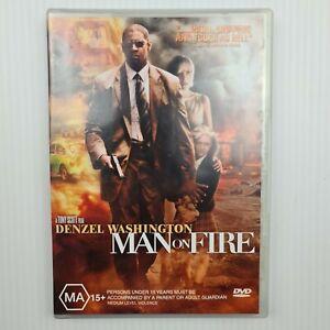 Man Of Fire DVD - Denzel Washington - Region 4 - FREE TRACKED POSTAGE