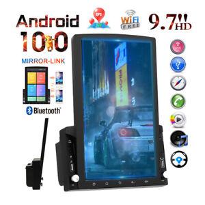 2 DIN 9.7 Zoll Autoradio Android 10.0 Stereo Bluetooth Touchscreen GPS NAVI Wifi