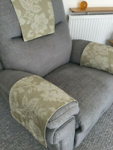 SAGE GREEN  X 1 Cover Chair Arm Back Antimacassar Sofa Armchair Protector