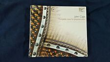 CAGE JOHN - COMPLETE MUSIC FOR PREPARED PIANO.  BOX 3 CD DIGIPACK ED NEW SEALED