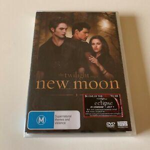 The Twilight Saga - New Moon DVD Brand New Sealed Region 4