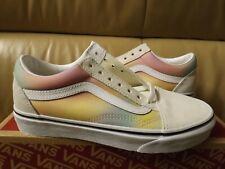 Vans Old Skool (Aura Shift) Women's Size 7 Shoes Multi/True White VN0A4U3BWGQ