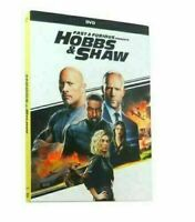 Fast And Furious Presents HOBBS & SHAW DVD New & Sealed Free Shipping