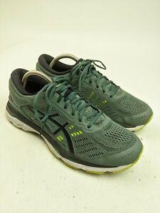 Mens Asics Gel Kayano 24 Green Running Shoes Sz 8