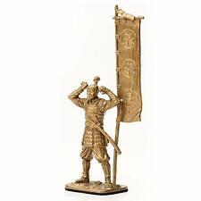 Japanese Tin Toy Soldier Ashigaru 16th Cent Metal Warrior Medieval Figure Bronze