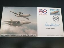 More details for sir denis thatcher signed fdc raf 80th anniversary number 191 of 200