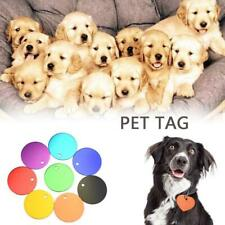 Pet Tags Personalized Pendant Accessories Glitter Solid Engraved ID Name Collar