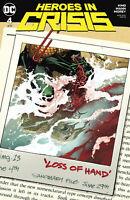 Heroes In Crisis #4 Variant DC Comic 1st Print Unread 2018 NM