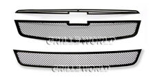 SS 1.8mm Black Mesh Grille Combo For 11-2013 Chevy Cruze LT/LTZ RS package