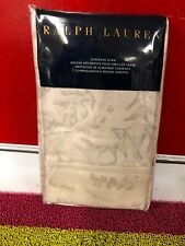 Ralph Lauren One European Pillow Sham 26x26 Gray Silver Fleur Du Roi $130