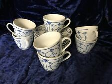 JAGER EISENBERG GERMAN REPUBLIC 7 Cups & 8 Saucers
