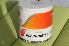 AIR CHINA Toilettenpapier Klopapier Klo-Rolle Toilet Tissue Flugverkehr Sammler