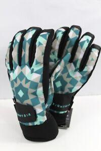 686 Women's Crush Snowboard Gloves Medium, Crystal Green Gem New 2020