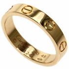CARTIER   Ring mini love ring #49 K18 Pink Gold