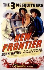 RARE 16mm Feature: FRONTIER HORIZON (JOHN WAYNE / JENNIFER JONES) 3 MESQUITEERS