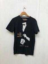 Bershka Men's Bruce Lee Graphic Icon T-Shirt - Medium - Black - New