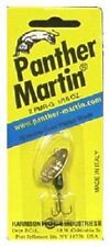 Big Rock, 2 Pack, Panther Martin, Yellow w Red Dots, 1/16 OZ, Gold Spinner
