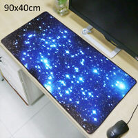 Extra Large Galaxy Gaming Mouse Pad Mat for PC Laptop Anti-Slip 900*400mm