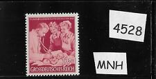 MNH WWII Germany stamp / Third Reich / 1944 Mother & Baby Child / Doctor & Nurse