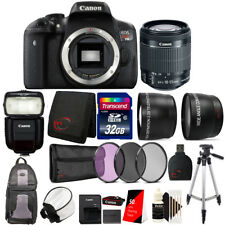 Canon EOS Rebel T6i with EF-S 18-55mm IS STM Lens , 430EX Flash & Accessories