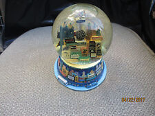 vintage 2000 Broadway Cares New York Times Square Twin Towers Snowglobe music