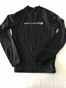 BODY GLOVE Youth Medium Rash Guard Long Sleeve Swim Shirt, UV Protection TS9