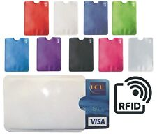 ETUI Porte carte Crédit avec protection RFID anti piratage Paiement sans contact