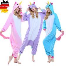 Kigurumi Pyjamas Einhorn Schlafanzug Erwachsene Unisex Onesie Einhorn Pyjamas