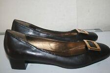 ETIENNE AIGNER RENEE Women's Block Heel Flats, Brown Size 10