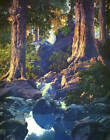 """""""The Glen"""" Blues by  Maxfield Parrish"""