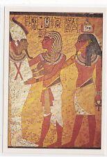 CP TABLEAU TOMBE DE TOUTANKHAMON Le roi accueilli par Osiris