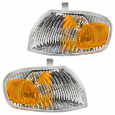 FIT FOR CHEVY PRIZM 1998 1999 2000 2001 2002 CORNER PARK LAMP RIGHT & LEFT PAIR