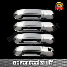 For Ford Explorer 2002-2010 Chrome 4 Doors Handle Covers W/Out Passenger Keyhole